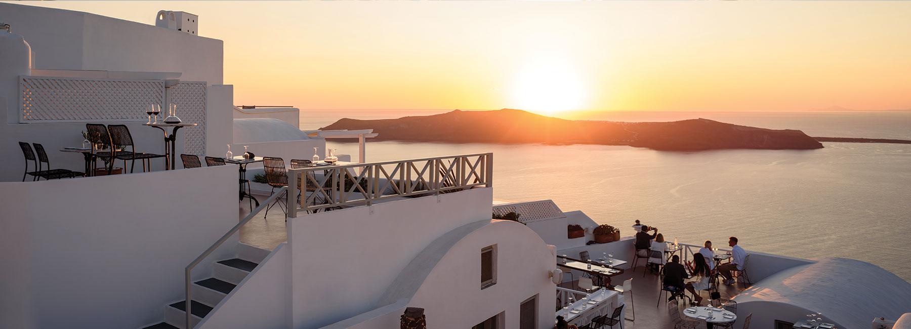 The Wine Bar full terrace view